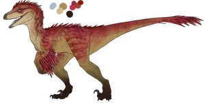 Raptor adoptable #6 -CLOSED- by GoldenNove