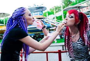 Loony Girls III by Int0XiKate
