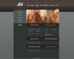 Web Design for Jan Marik by K0M0X