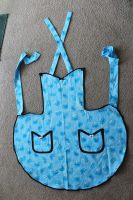 Cookie Monster Apron by InAnotherCastle