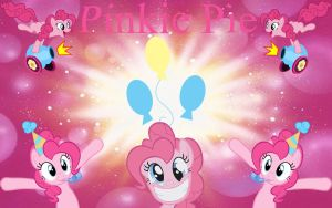 Pinkie Pie Wallpaper by Macgrubor