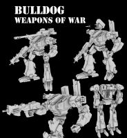 BullDog - Weapons of War by MikeTehFox