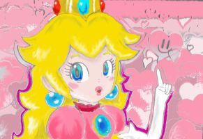 Lil pic Princesse Peach Colore by keke74100