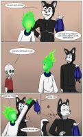 Undertale Green Page 9 by FlamingReaperComic