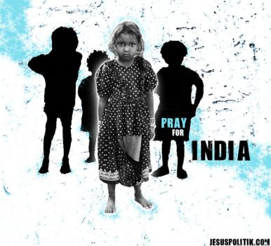 Pray for India by Rare-Patent