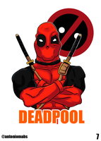 Deadpool by Mabelma