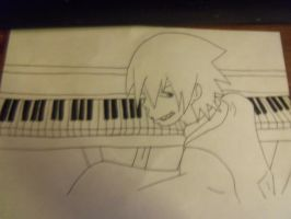 soul on his piano by firestar130