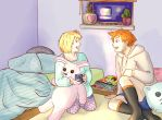 Sleepover by ThroughMyThoughts
