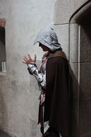 Ezio Auditore in church by Jozo-Dono