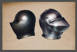 Helmets by Vagrantdick