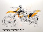 ktm 450 by dessinsdejul