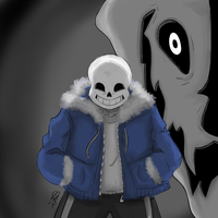 Sans Battle by LeleYume