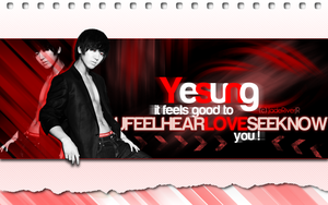 Yesung - Feels Good Wallpaper by JadeRiverJR