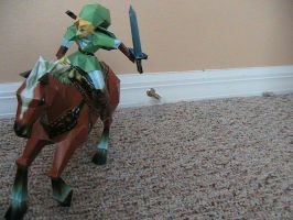 Link and Epona Papercraft by may7733