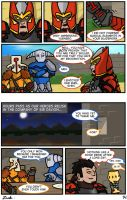 #3k: Knight in Dragon's Armour (Part 11) by zacharychua