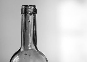 Wine bottle by grumsetuff