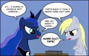 Fixing Luna's Console by BCRich40