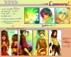 COMMISSION INFO! [OLD] by forgottenpantaloons