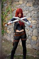 Katarina cosplay2 - Dragonstrace by DragonsTrace