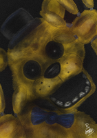 Golden Freddy by Rufinator