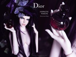 Dior - Hypnotic Poison Fragrance by Sarqq