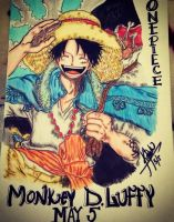 Monkey D Luffy by kei1722