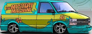 Scooby-Dooby-Doo Where Are You by carfan