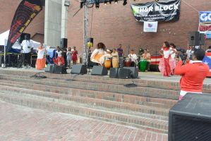 Puerto Rican/Latin Festival, Dancing To Bongos 15 by Miss-Tbones