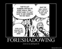 Zoro demotivational by V-Incarnate