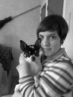 filou and me by theladyinred002