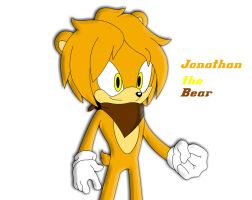 Jonathan the bear by tacofacedrawer