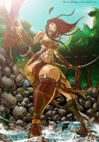 Amazon archer by Osmar-Shotgun