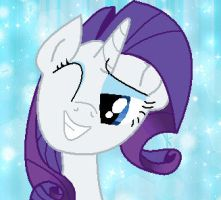 MLP : Rarity by chocoqueen112