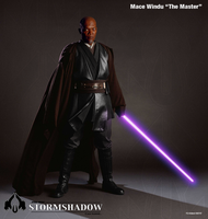 Stormshadow:  Master Windu by Phaeton99