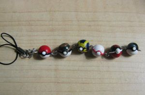 Custom Pokemon Team Charm by jonaleepuff