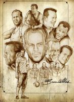 Bruce willis by NachoCastro