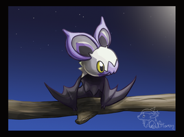Noibat by GoldFlareon