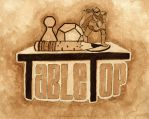 TableTop Logo in Coffee by strryeyedreamr27