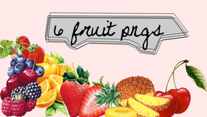6 fruit pngs by moment4lifex