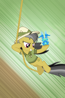 Daring Do iPhone Wallpaper by t-dijk