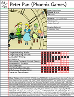 Peter Pan (Phoenix Games) Notepage by Duckyworth