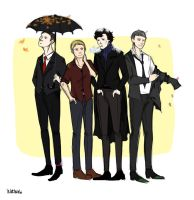 Sherlock and Co by Waltenshi