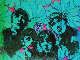 Psychedelic Beatles by ali-loves-mo