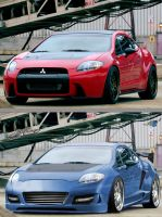 MITSUBISHI ECLIPSE BY A.S.D by TheAlessandro