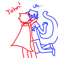 John And Dave by cloudkit25