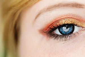 My autumn eye stock by EliseEnchanted