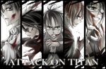 SnK: Bloody Bookmarks by yummy-suika