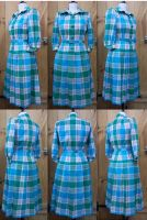 1940s checked dress by Janes-Wardrobe
