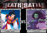 Death Battle - Suzuka vs Gamora by Rassilon001