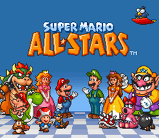 Super Mario All-Stars Title Edit by geno2925